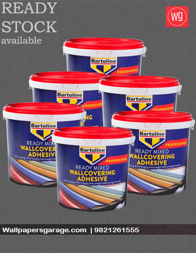 Bartoline Adhesive 5kg tub for wallpaper | Wall Papers ...